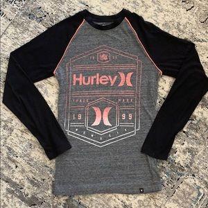 Men's XS LS Hurley Tee